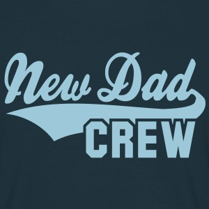 New Dad CREW Design T-Shirt HN - Mannen T-shirt