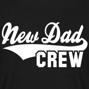 New Dad CREW Design T-Shirt WB - T-shirt herr