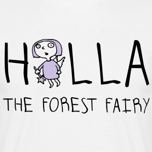 holla_the_forest_fairy_052012a_2c T-Shirts - Männer T-Shirt
