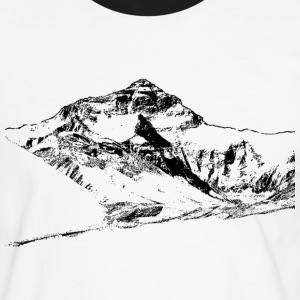 Mount Everest (2) T-Shirts - Männer Kontrast-T-Shirt