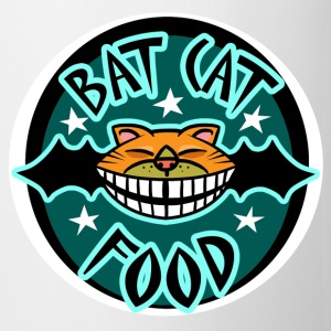 Bat Cat Food Mugs  - Mug