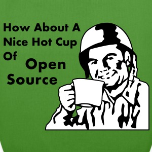 How About A Nice Hot Cup Of OPEN SOURCE Sacs - Sac en tissu biologique