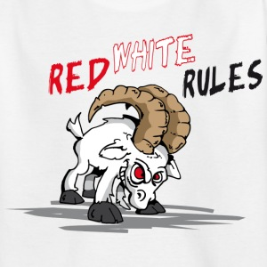Red White Rules Kinder T-Shirts - Kinder T-Shirt