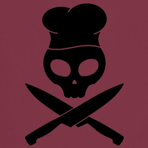 kitchen skull pirate Forklæder - Forklæde