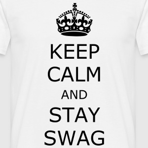 Keep calm and stay swag - Männer T-Shirt
