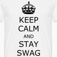 Vit Keep Calm T-shirts