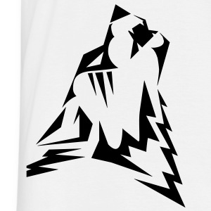 Mens WEARWOLF tribal tattoo T-shirt - Men's T-Shirt