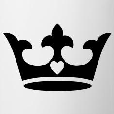Bouteilles et tasses roi spreadshirt for Coeur couronne et miroir apollinaire