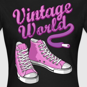 Pink vintage sneakers - Women's T-Shirt