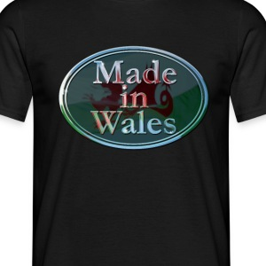 Wales Made in Wales - Men's T-Shirt