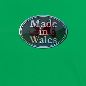 Wales Made in Wales - Women's Ringer T-Shirt