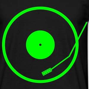 Neon deck - DJ turntable - Men's T-Shirt