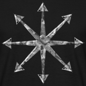 Chaos Star Marble Edition | Gothic Horror Fantasy Shirts - Men's T-Shirt
