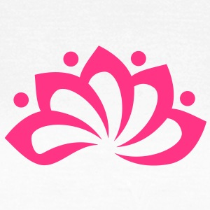 Lotus Flower, c, vector, symbol of perfection and enlightenment, sacred symbol Camisetas - Camiseta mujer