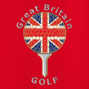 great britain union jack golf logo Kids' Shirts - Teenage T-shirt
