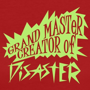 grand master creator of disaster (1c) T-Shirts - Frauen Bio-T-Shirt