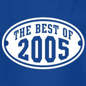 THE BEST OF 2005 - Birthday Anniversary Børne T-Shirt WB - Børne-T-shirt