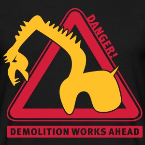 demolition_works_ahead T-Shirt - T-shirt herr