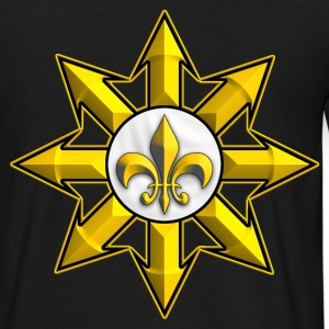 gold royalist symbol Tee shirts - T-shirt Homme