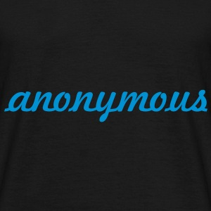 anonymous ! Tee shirts - T-shirt Homme