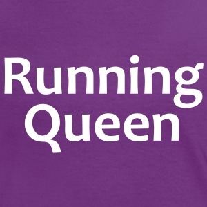 Running Queen | Sport-T-Shirts bedrucken T-Shirts - Frauen Kontrast-T-Shirt