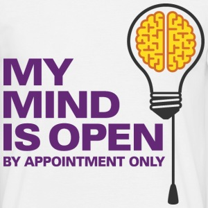 My Mind Is Open 4 (dd)++ T-shirts - Mannen T-shirt