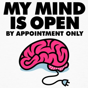 My Mind Is Open 3 (3c)++ T-Shirts - Männer Bio-T-Shirt