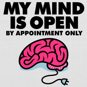 My Mind Is Open 3 (3c)++ Tassen - Tas van stof