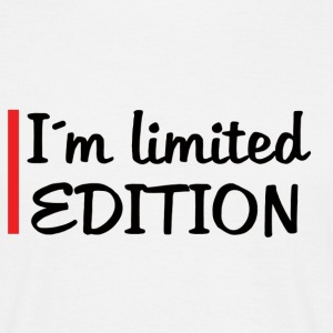 I´m limited edition - T-shirt herr