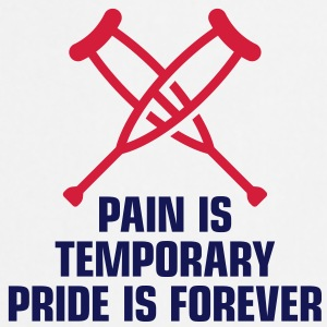 Pain Is Temporary 1 (2c)++  Aprons - Cooking Apron