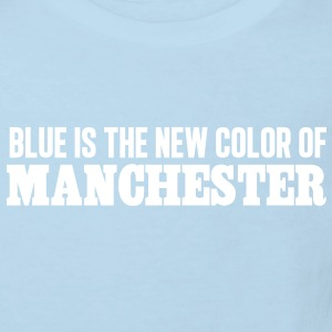 Blue is the new color of Manchester - T-shirt Bio Enfant
