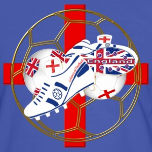 England Saint George soccer ball T-Shirts - Men's Ringer Shirt
