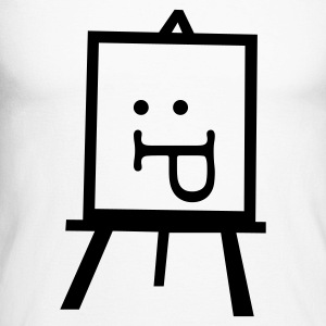 Easel & Painting - Men's Long Sleeve Baseball T-Shirt