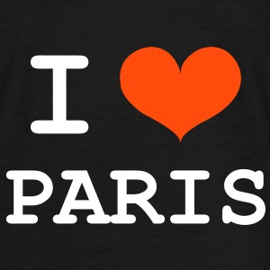 I Love Paris T-Shirts - Männer T-Shirt