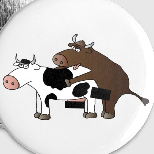 cattle censored Buttons - Buttons small 25 mm