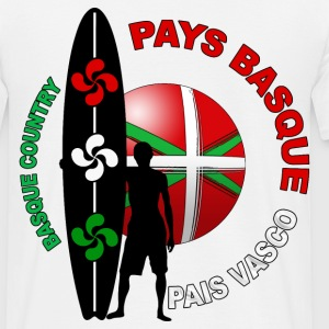 basque surfing 003 Tee shirts - T-shirt Homme