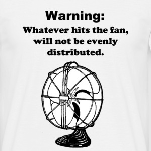 Warning: - Men's T-Shirt