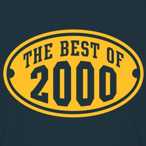 THE BEST OF 2000 - Birthday Anniversary T-Shirt YN - Men's T-Shirt
