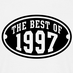 THE BEST OF 1997 - Birthday Geburtstag T-Shirt BW - Männer T-Shirt