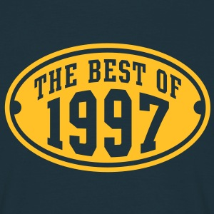 THE BEST OF 1997 - Birthday Anniversaire Tee Shirt YN - T-shirt Homme