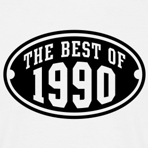 THE BEST OF 1990 - Birthday Anniversary T-Shirt BW - Men's T-Shirt