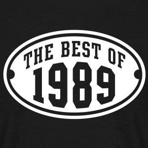 THE BEST OF 1989 - Birthday Anniversary T-Shirt WB - Men's T-Shirt