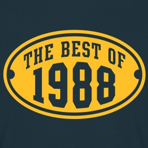 THE BEST OF 1988 - Birthday Anniversary T-Shirt YN - Men's T-Shirt