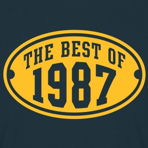THE BEST OF 1987 - Birthday Anniversaire Tee Shirt YN - T-shirt Homme