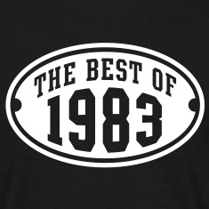 THE BEST OF 1983 - Birthday Anniversary T-Shirt WB