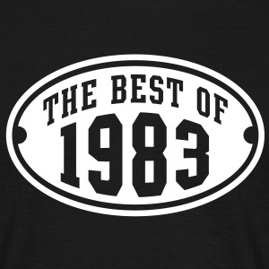 THE BEST OF 1983 - Birthday Anniversary T-Shirt WB - Men's T-Shirt