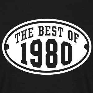 THE BEST OF 1980 - Birthday Anniversary T-Shirt WB - Men's T-Shirt