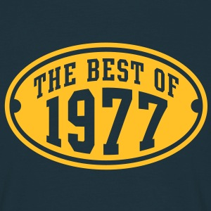 THE BEST OF 1977 - Birthday Anniversary T-Shirt YN - Men's T-Shirt