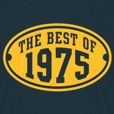 THE BEST OF 1975 - Birthday Anniversary T-Shirt YN