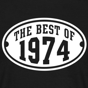 THE BEST OF 1974 - Birthday Anniversary T-Shirt WB - Men's T-Shirt